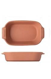 QINGGANGLING999 Rechteckige keramische Dinnerplatte Familiennutzungssuppe mit Griff Backplatte geeignet für Käse Reis sortierte Farbe (Color : Orange Size : 2pack)