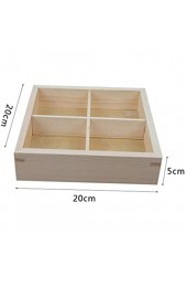 XIUYU Holz Mutter Box Kreativ Wohnzimmer Dörrobst Teller Compartment Lagerung Melon Tray (Farbe: 4420909090) (Color : 4420909090)