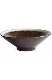 XIUYU Keramiknapf japanischen Retro Fruchtsalatteller große Kapazitäts-Misch Geschirr Tray 23x7.6cm