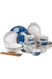 ZEH Die keramische Teller mit lackiertem Farbmusterdesign kreativer und individueller Zuhause FACAI