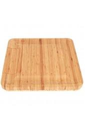 Emoshayoga Charcuterie Board Käseplatte Bambus Material Robustes Käse Schneidebrett Thanksgiving Geschenk Jubiläumsgeschenk