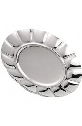 Yivibe Edelstahlplatte kleines Snack-Tablett für Haushaltsrestaurants(7 inch)