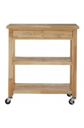 Premier Housewares Kitchen Trolley Tropical Hevea holz