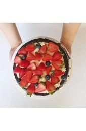 AMACOAM Cake Board Kuchenplatte Rund 30cm 25cm 20cm 15cm Cakeboard 4er Set Silber Tortenunterlage 2 mm Dick Tortenplatte Lebensmittelecht für Mehrstöckige Torten Deko und Transport