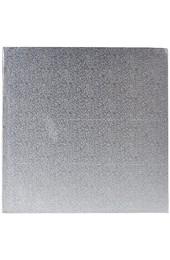 Decora 0931249 CF 2 CAKEBOARD QUADRATISCHE Silver 30X30 cm