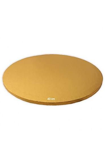 Tortenplatte/Cake Board Rund Gold 40 cm