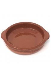 Cazuela traditionell flach braun 10 cm