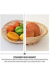 Runde Rattan-gewebtes Servierfach küche servierende Tablett Frühstück Getränke Snack für Couchtisch Zuhause dekorativ (Size : 28x8cm)