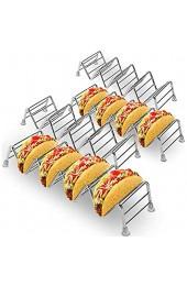 Taco Holder-Premium Taco Standgestell aus Edelstahl für Kinder Hard- oder Soft Shell Tacos