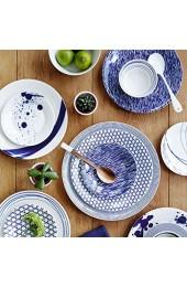 Royal Doulton 23cm Porzellan Pacific-Set Blau 6Stück