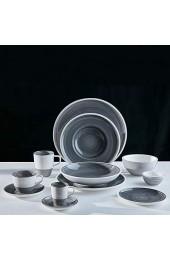 Villeroy & Boch 10-4231-2660 Manufacture gris Brotteller Premium Porzellan