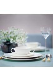 Villeroy & Boch 10-4545-2660 Anmut Brotteller Porzellan weiß 18 x 19.99 x 5.99 cm 1 Einheiten
