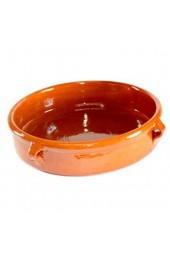 Terrissaires - Cazuela Tonschale Braun Traditionell - 32 cm Durchmesser