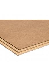 MDF-Platte grob Dicke 4 mm Tosend Set 5 Stück Maße Platte 40 x 30 cm
