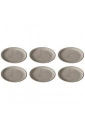Thomas Trend Colour Frühstücksteller Ø 20 cm Porzellan Moon Grey (6 Stück)