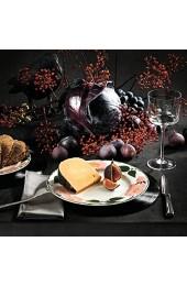 Villeroy und Boch Wildrose Frühstücksteller 21 cm Premium Porzellan Weiß/Bunt