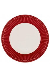 GreenGate- Pasta Teller/Deep Plate - Alice Red
