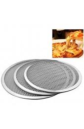 Rundes Pizza-Netz antihaftbeschichtet 15 2 cm bis 43 2 cm nahtloses Aluminium-Metallnetz Backgeschirr Küchenutensilien (Farbe: 15 2 cm)