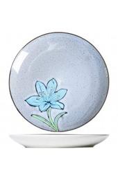 IHZ Kreative Keramik-Kunstteller Teller und Geschirr für den Heimgebrauch Teller und Dessertteller