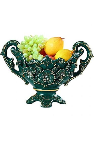 N/Z Lebensausrüstung Europäische Obstplatte Keramik Obstplatte Home Wohnzimmer Luxus Teetischdekoration Ornamente