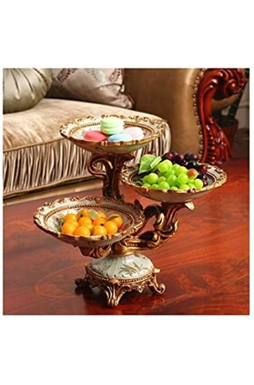 N/Z Life Equipment Europäische große mehrschichtige Obstteller Gitterplatte dekorative Snackplatte getrocknete Obstteller Snack Candy Plate