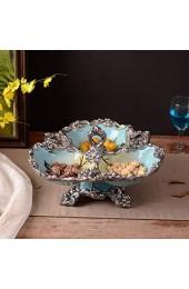 XinQing Obstgericht Getrocknete Früchte Snack Teller Kuchen Western-Stil Teller Afternoon Tea Tray Home Decoration Craft