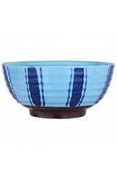 XIUYU So zufrieden Keramiknapf japanisch-Ste Family Restaurant Ramen Teller Salatteller Tablett Blau Geschirr 17x8cm