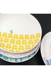 zvcv Creative Simple Dish Haushalt Teller Hotel Frühstück Western Steak Dish Keramik Dish Whale 20.5Cm