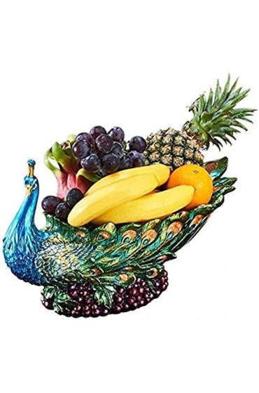 zvcv Snack Fruit Plate Fruit Plate Teetisch Persönlichkeit im europäischen Stil Snack Plate Desktop-Dekoration Home Candy Plate