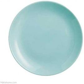 Dajar Dessertteller Hartglasgeschirr Kuchenteller Teller Diwali Turquoise 19 cm Luminarc Blau