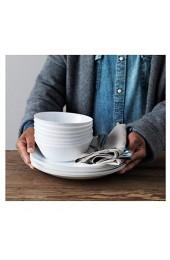 IKEA OFTAST Teller in weiß; (25cm); 6 Stück