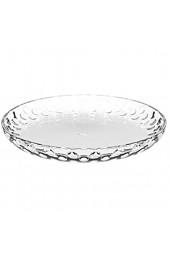 Leonardo Cucina Optic Glas-Teller runde Ess-Teller aus Glas spülmaschinengeeignete Speise-Teller Ø 180 mm 6er Set 066339