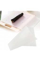 Antihaft-Sushi-Form wiederverwendbare waschbare Silikon-Sushi-Walze DIY-Hersteller Rollmatte Küchenzubehör Lebensmittel-Silikon Leicht zu reinigen Lustige Sushi-Rollen
