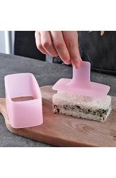 Antihaftbeschichtete Sushi-Presse BPA-freies Sushi-Set Onigiri-Form ungiftig Fleischpresse Hawaii-Spam Musubi-Maker