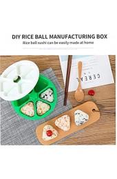 CULER 6 Löcher Sushi Mold Onigiri Reis-Ball Bento Press Herstellung Mold Küche DIY Kochen Zubehör 1pc