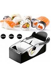 Heall Perfekte Sushi Roll Machine Sushi-Maschine Roller Ausrüstung DIY Kitchen Magic Gadget Küchenzubehör Schwarz Backen Zubehör