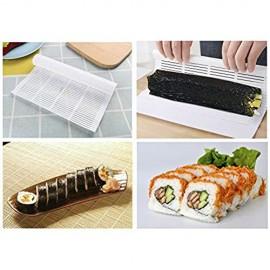 iTimo Sushi Rolling Mat Algen Nori Sushi Making Mould Antihaft Kunststoff Weiß