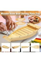 Monland 42X17X7 5 cm Japanische Küche Sushi Boote Sushi Werkzeuge Holz Handgemachte Einfache Schiff Sashimi Verschiedene Kalt Gerichte Geschirr Bar