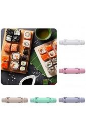 QFWN Sushi Maker Roller Reisform Sushi Gemüse Fleisch Walzwerkzeug DIY Sushi Machen Maschine Küche Sushi Werkzeug Sushi Plate (Color : White)