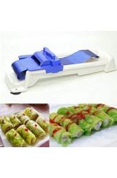 Sushi Maker Bazooka Roller Egg Roll Wrappers Gemüse Fleisch Gefüllte Weinblätter Roller Kohl Rollwerkzeug für Anfänger und Kinder