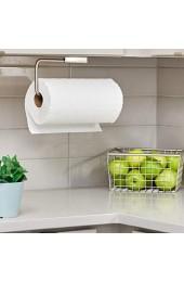 iDesign Forma Papierrollenhalter | wandmontierter Küchenrollenhalter mit Schwenkarm | eleganter Rollenhalter für 1 Rolle Küchenpapier | Edelstahl silber