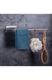 TBPHP Küchenrollenhalter ohne Bohren Halter auch für Küchen- und Handtücher für Wand- und Schrankmontage - mattsilberfarben