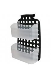 Aufbewahrungskorb verstellbarer Schrank Türhalterung Organizer 2-lagiger Aufbewahrungshalter Hängekorb für Küche Badezimmer