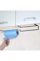 Bellaluee Praktisches Design Home Küchenhandtuchhalter Aufbewahrungsregal Küchenschrank Schrank Abtropffläche Metallregal Haken Organizer Halter