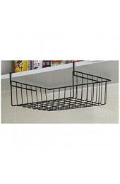 shadiao Under Shelf Table Storage Basket Rack Desk Wire Cabinet Hanging Rack Organizer
