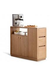 Sideboards Einfacher Trennkanal-Kabinett Nordischer Wohnzimmer-Kabinett-Schließfach-Seitenkabinett Organisieren Sie Ihre Küche (Farbe : Natural Size : 100x35x88cm)
