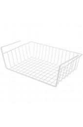 Yllang Hängen Sie unter Schrank Eisen-Aufbewahrungsregal Siebeinsatz Küche Rack Schneidebrett Handtuchhalter (Color : Weiß Size : 1)