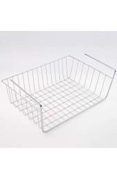 YLWL Silber Küche unter Regal Aufbewahrungskorb Leichtmetall Organizer Rack Silber L.