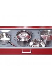 Antirutschmatte Schubladeneinlage Küche CANVAS 500mm Meterware 1 5m Länge umbragrau