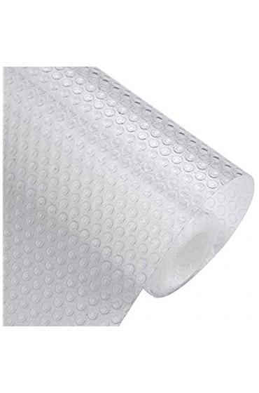 CJMM Antirutsch-Matte rutschfest Mat Schubladenmatte Antirutschmatte zuschneidbar und für Geschirrschrank und Schublade leicht zu reinigen Größe 120 x 45 cm transparent